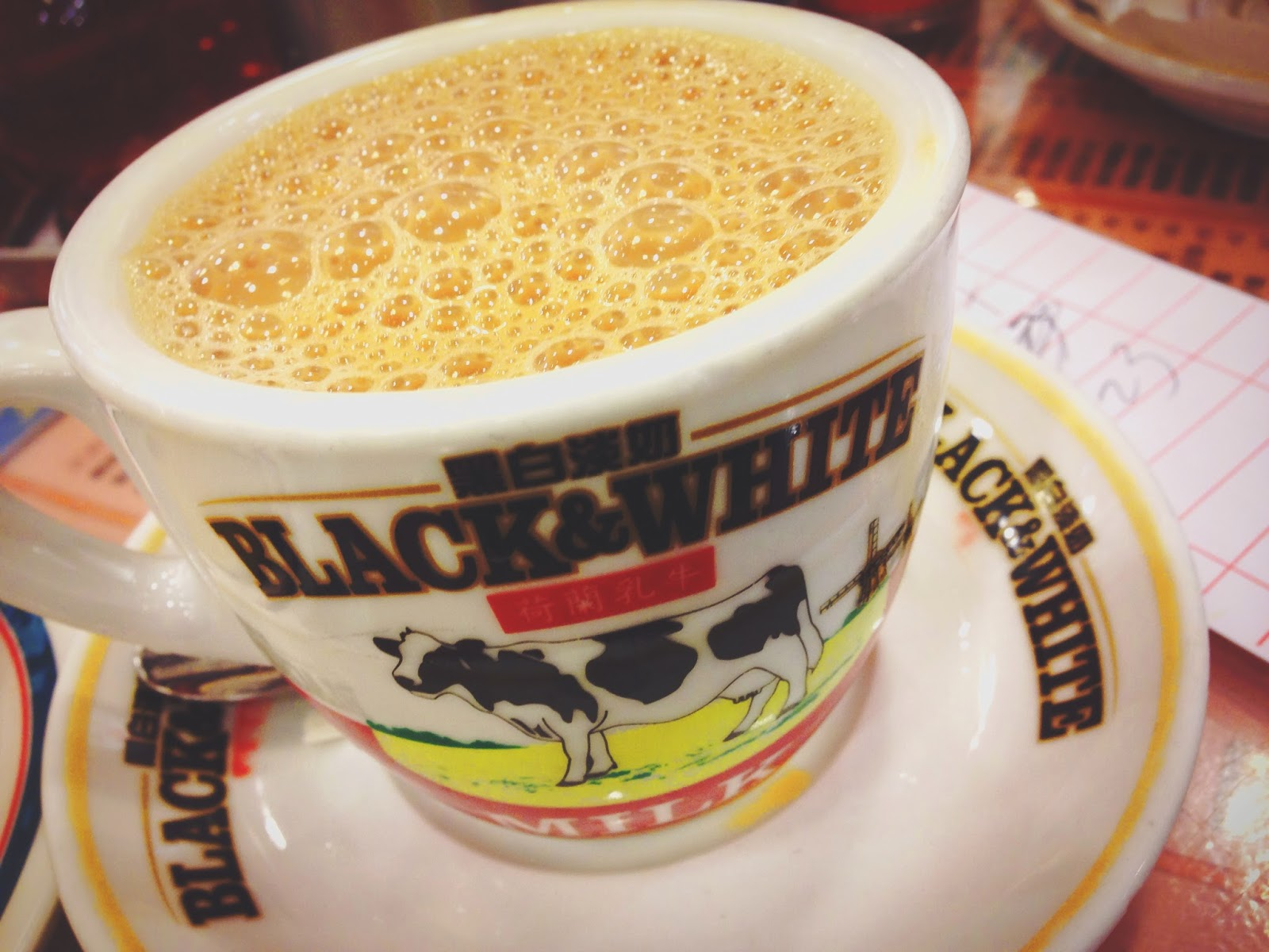 Kum Wah Cafe Hong Kong HK Milk Tea