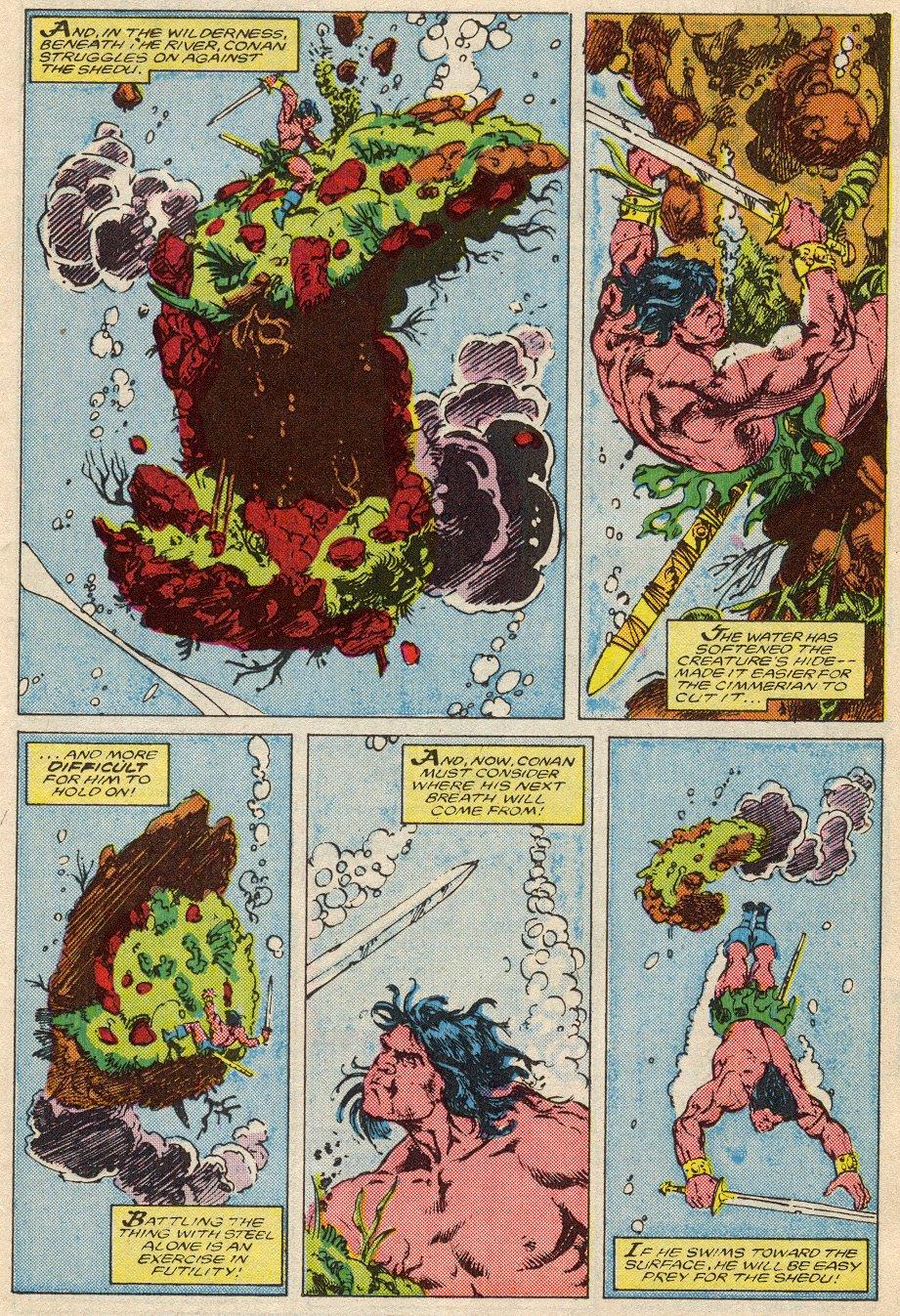 Conan the Barbarian (1970) Issue #194 #206 - English 9