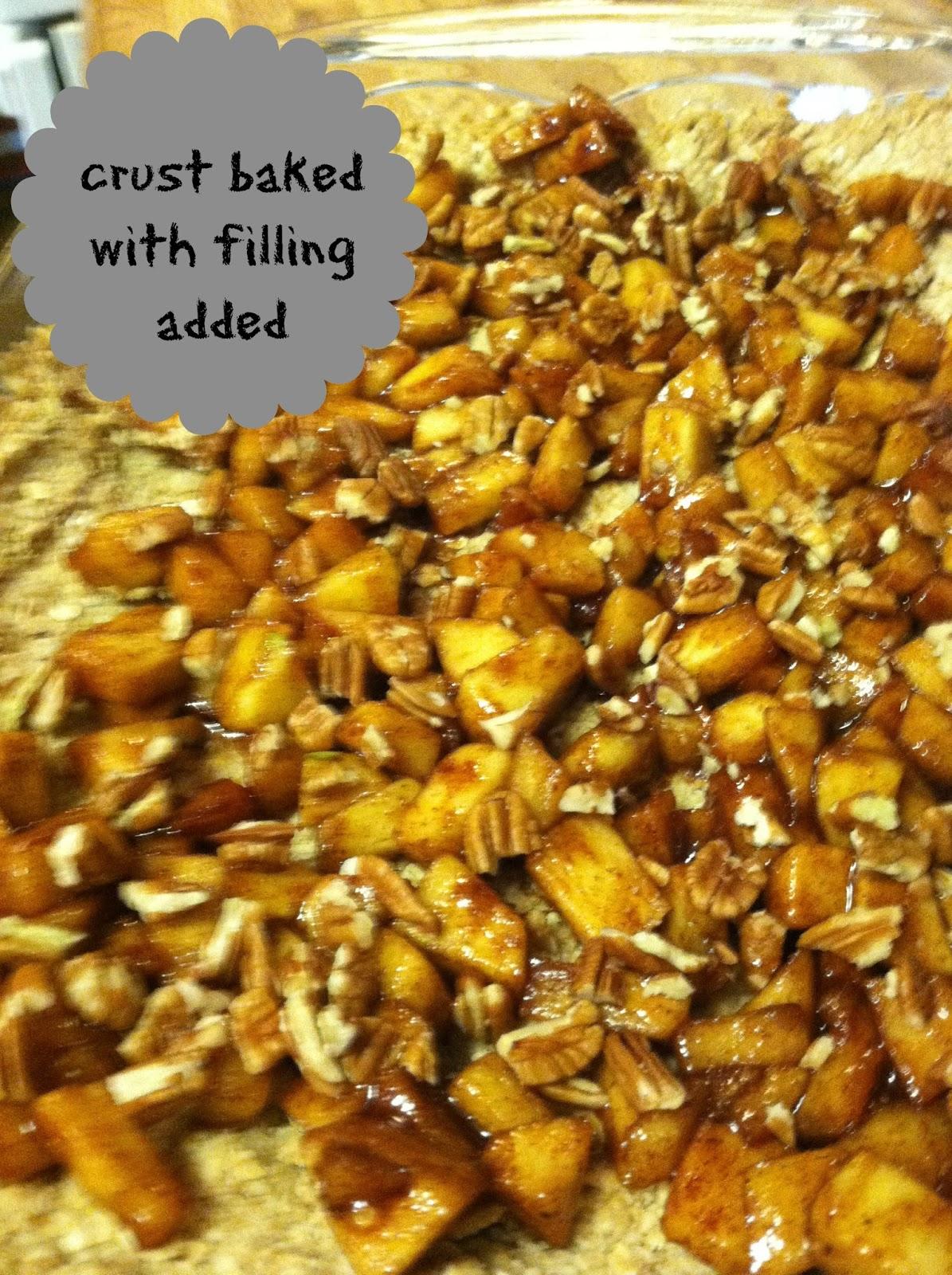 Spatulas On Parade: Apple Cinnamon Oatmeal Crumb Top Bars