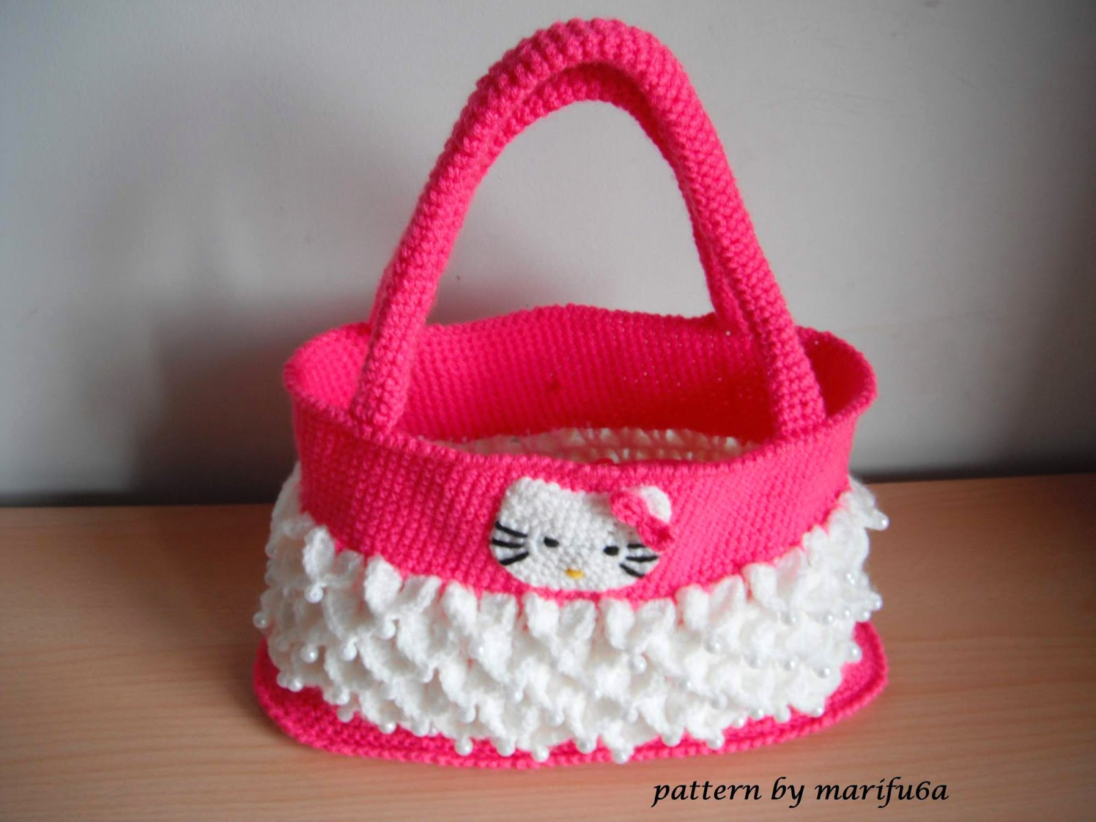 How To Crochet Hello Kitty Bag By Marifu6a Free Pattern Tutorial : Free crochet patterns and video tutorials: how to crochet ...