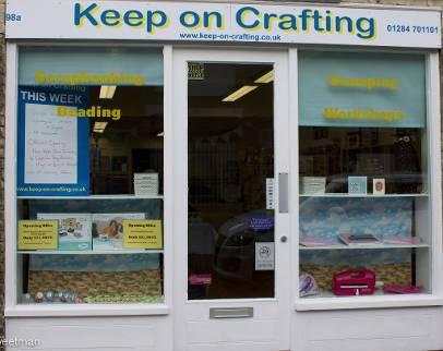 Keep on Crafting, Bury St Edmunds, Suffolk