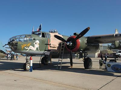 Randolph Air Force Base 2011 Air Show: B-25 Mitchell - Yellow Rose
