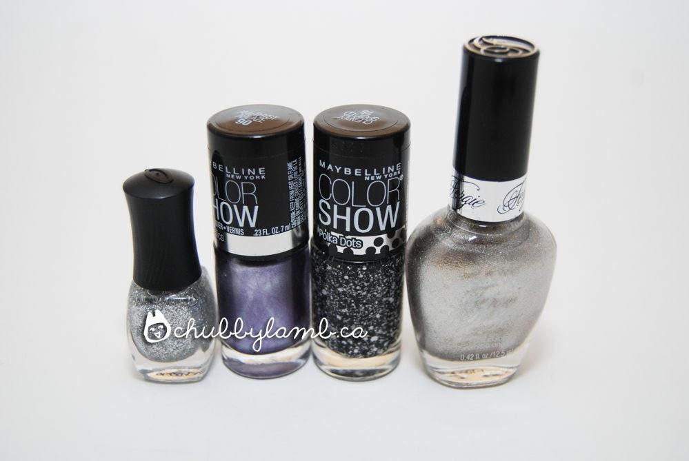 electric purple nail polish - photo #23