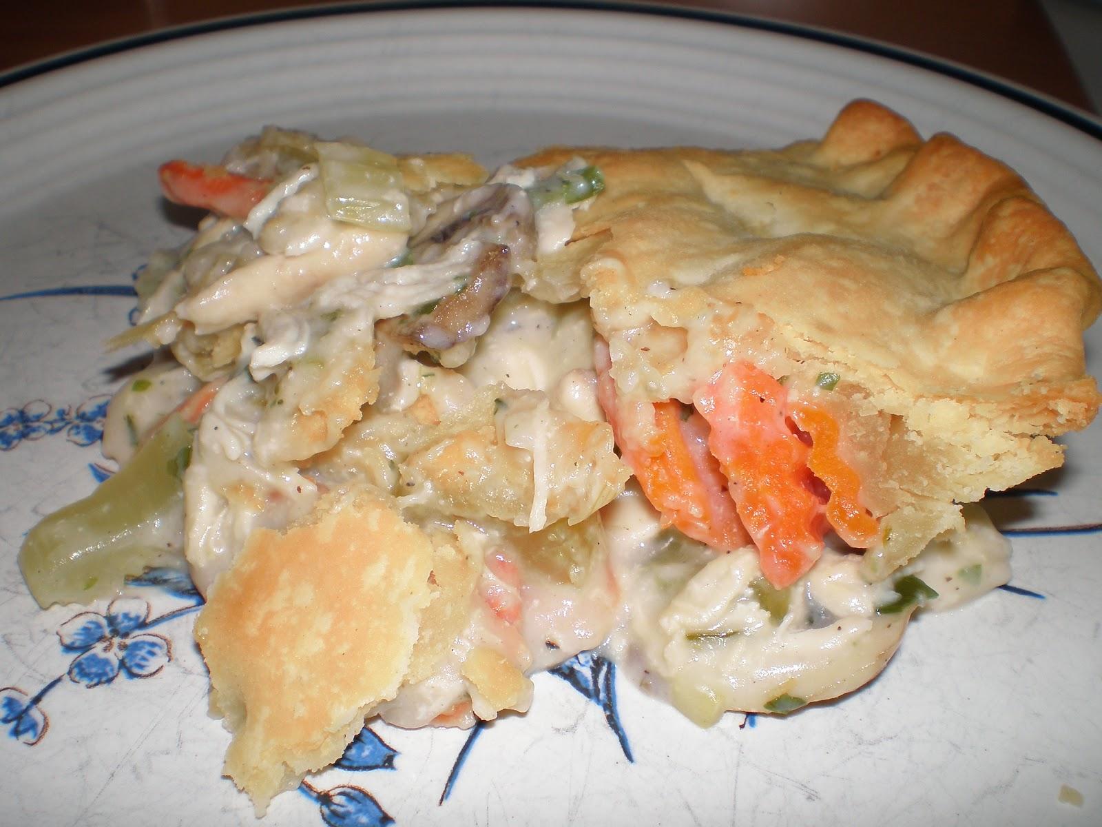 Kandy's Kitchen Kreations: Deep Dish Chicken Pot Pie