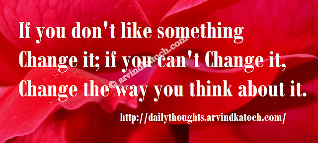something, change, think, Daily Quote, Thought