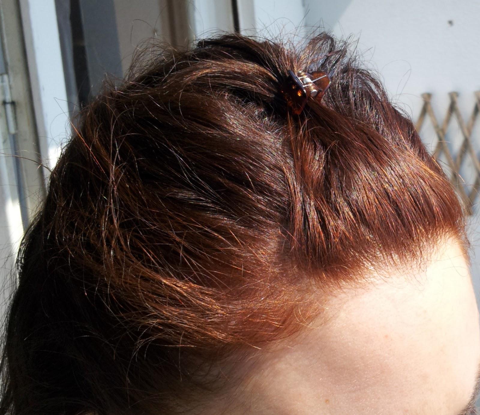 couleur de mes petits cheveux aprs le henn - Coloration Cheveux Henn