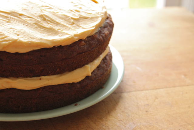 Ladyface Blog: Pumpkin Spice Layer Cake with Cream Cheese Frosting