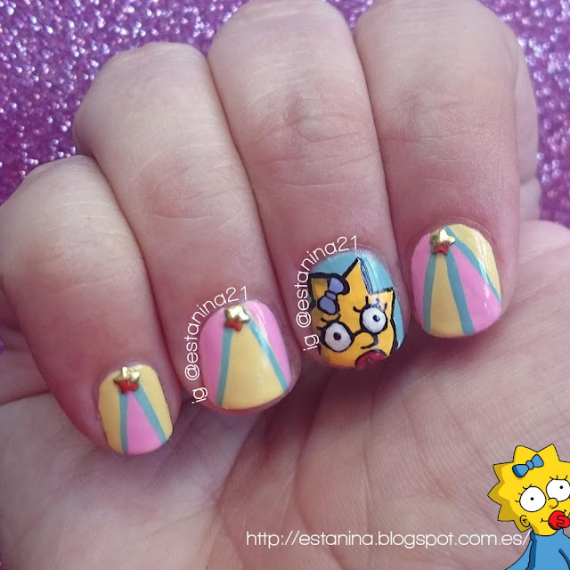 Maggie-Simpson-Nails