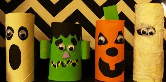 Hamburguer Artesanal Juiz De Fora ~ Educaç u00e3o Ambiental Halloween com materiais recicláveis