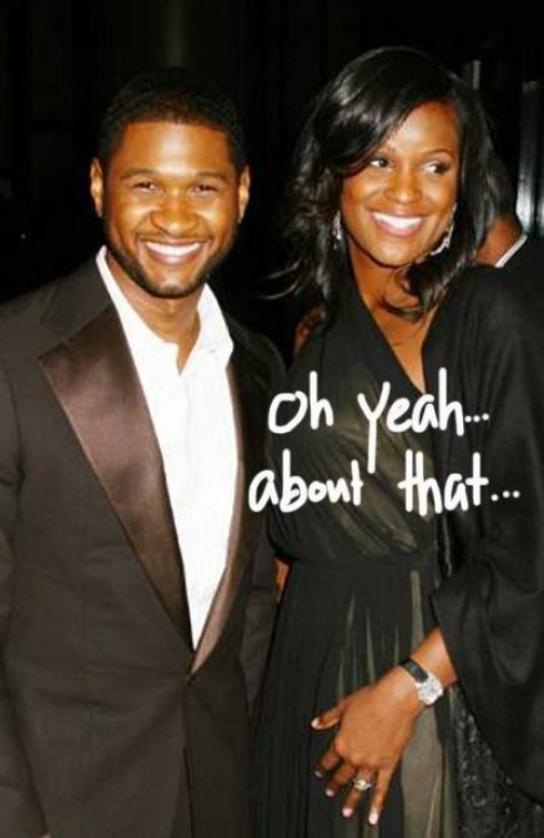 usher and wife.  usher and wife 2010