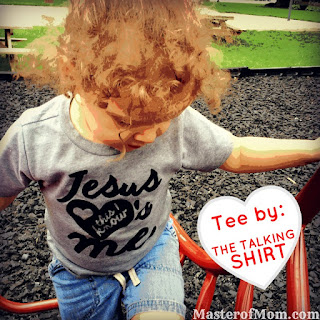 kids on playground, the talking shirt, positive messaging, christian clothing