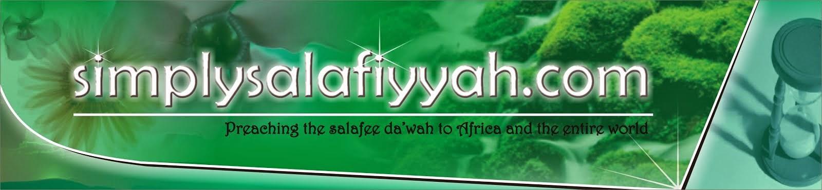 Simplysalafiyyah Blog