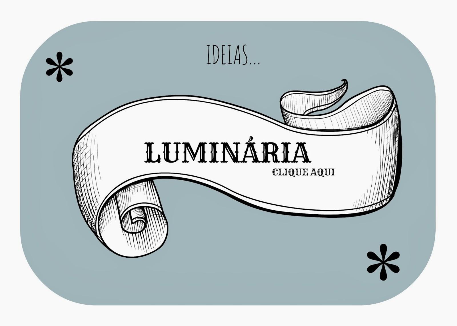 LUMINÁRIA IDEIA BARATA
