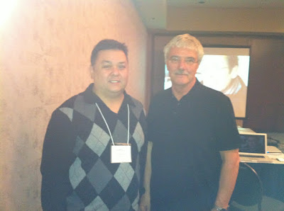 Beta Nu Delta Dr. Edward Cruz with Dr. Max Van Manen