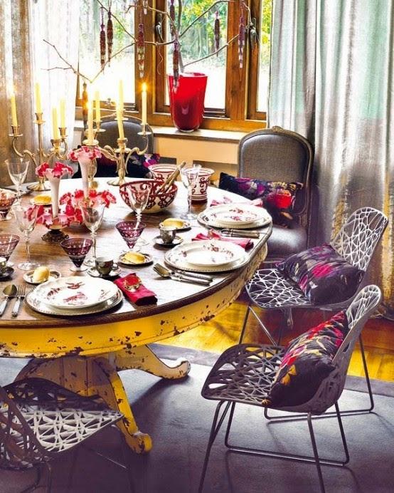 تصميمات رائعه لغرف المعيشه المغربيه  Exquisite-moroccan-dining-room-designs-16-554x692