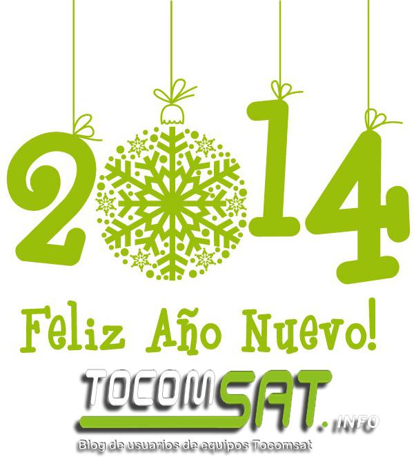 Feliz Año Nuevo 2014 Tocomsat