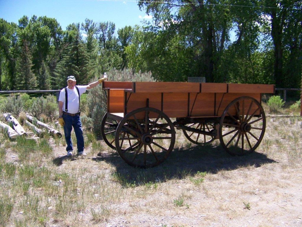 sheep wagon running gear gone 4 14 13 wilson dave and lockie earl 2 - Sheep Wagon 2