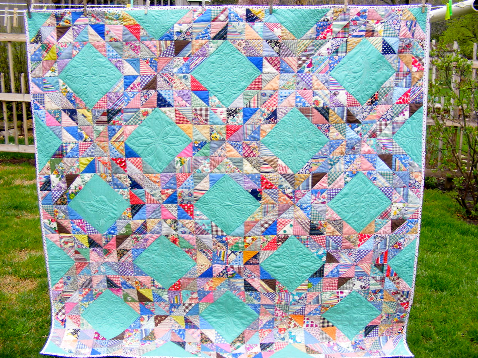 Tia Curtis Quilts Sweet Viola The Ocean Waves Quilt