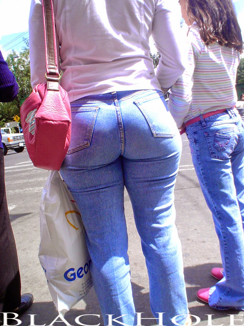 Criticising bubble butt tight pants congratulate, seems