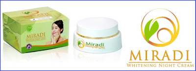 Miradi Whitening Night Cream