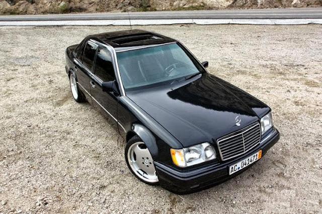 w124 black
