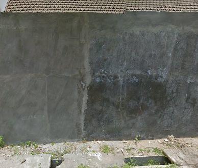 pagar tembok minimalis banget