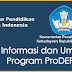 PROGRAM PRODEP KEMDIKBUD RI