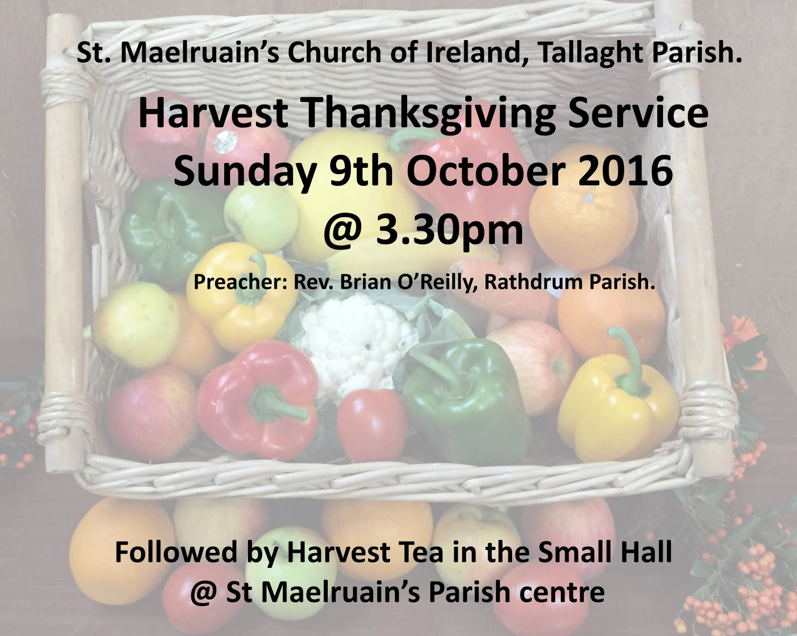 Harvest Thanksgiving