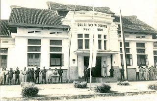Balai Kota Madya Pekalongan Tempo Dulu