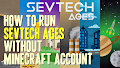HOW TO INSTALL<br>SevTech Ages Modpack [<b>1.12.2</b>] without Minecraft account<br>▽