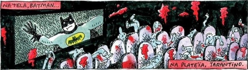 Adão Iturrusgarai: Tarantino.