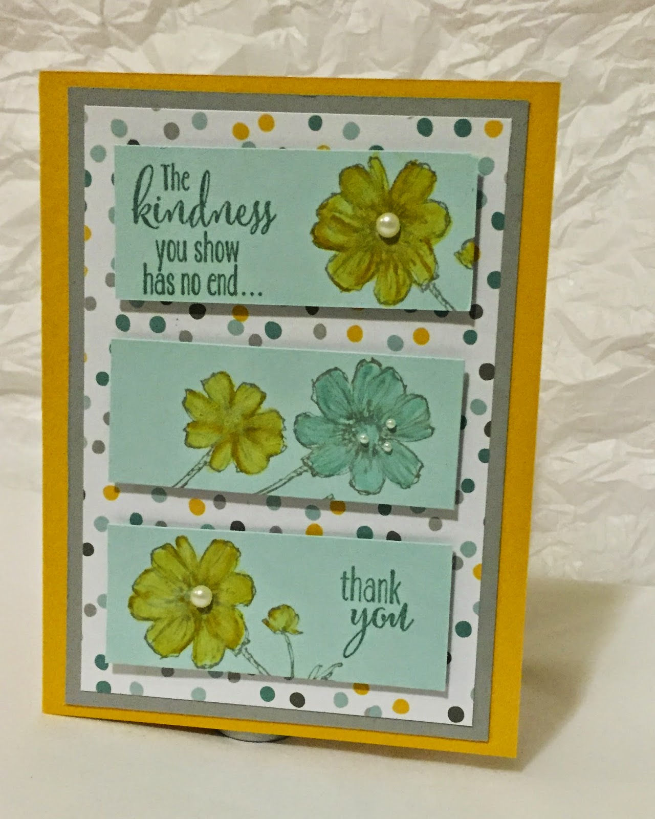 MidnightCrafting.com Stampin Up Moonlight DSP Bloom with Hope Lotus Blossom