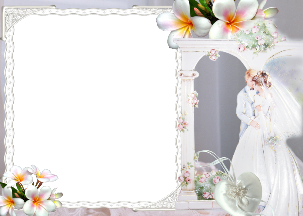 Couple Free Wedding Borders