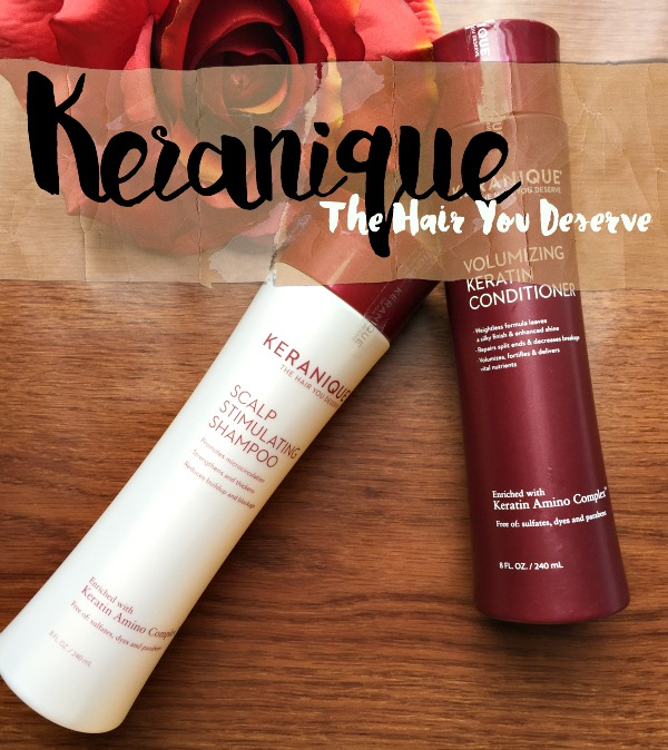 Keranique Shampoo & Conditioner Review