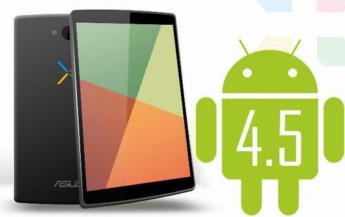 Android 4.5, Nexus 8