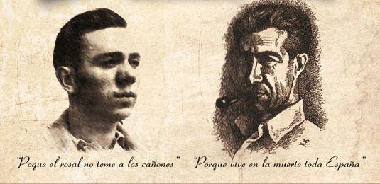 Miguel Hernández y Manuel Molina