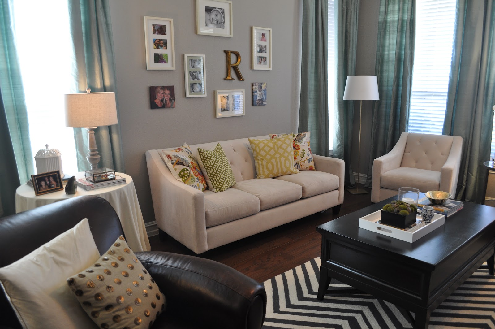 A lived in home living room tour for S carey living room tour