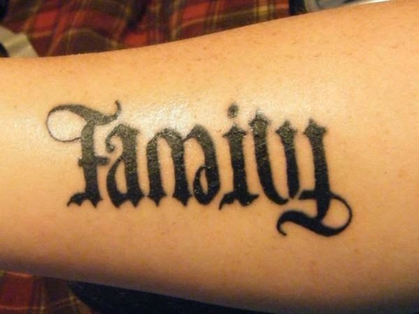 Create a tattoo with two names