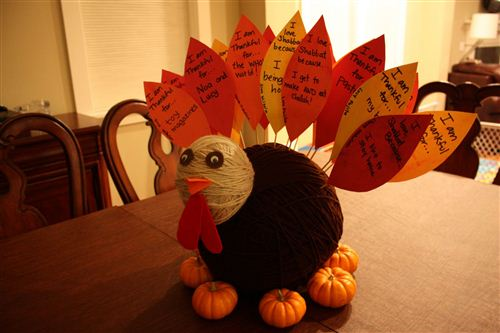 Meaningful Thanksgiving Decorations For Kids