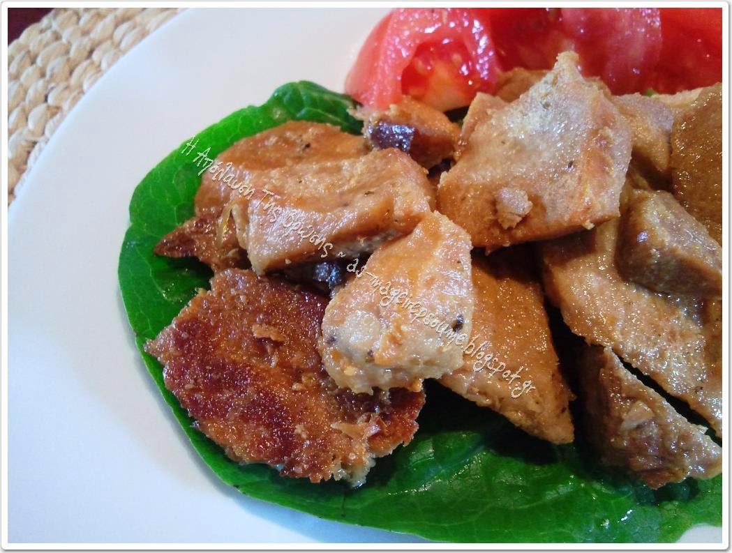 Χοιρινή τηγανιά κλασική συνταγή