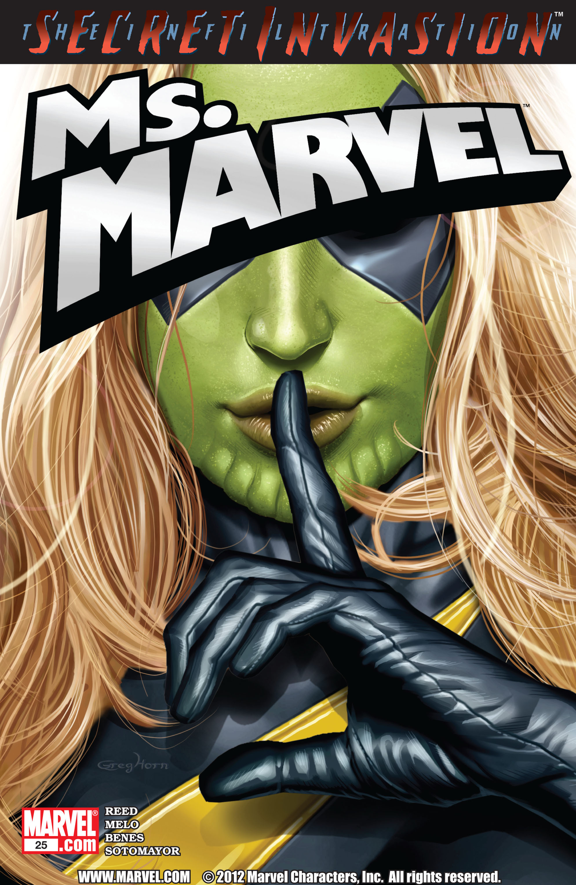 Read online Secret Invasion: The Infiltration comic -  Issue #8 - 1