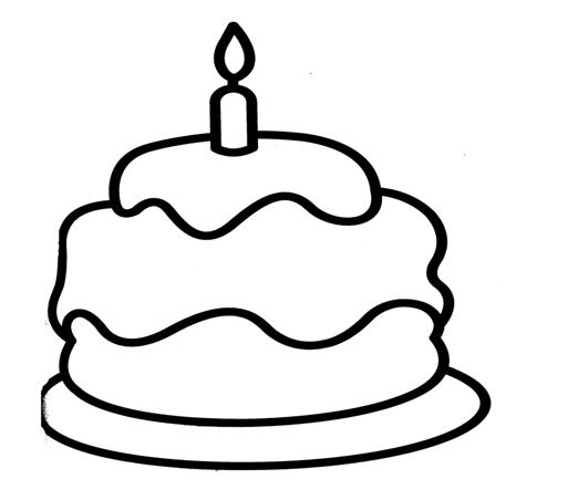 Menta m s chocolate recursos y actividades para - Dibujos de tartas para colorear e imprimir ...