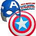 Mundo Nerd: Máscara e Escudo do Capitão América !