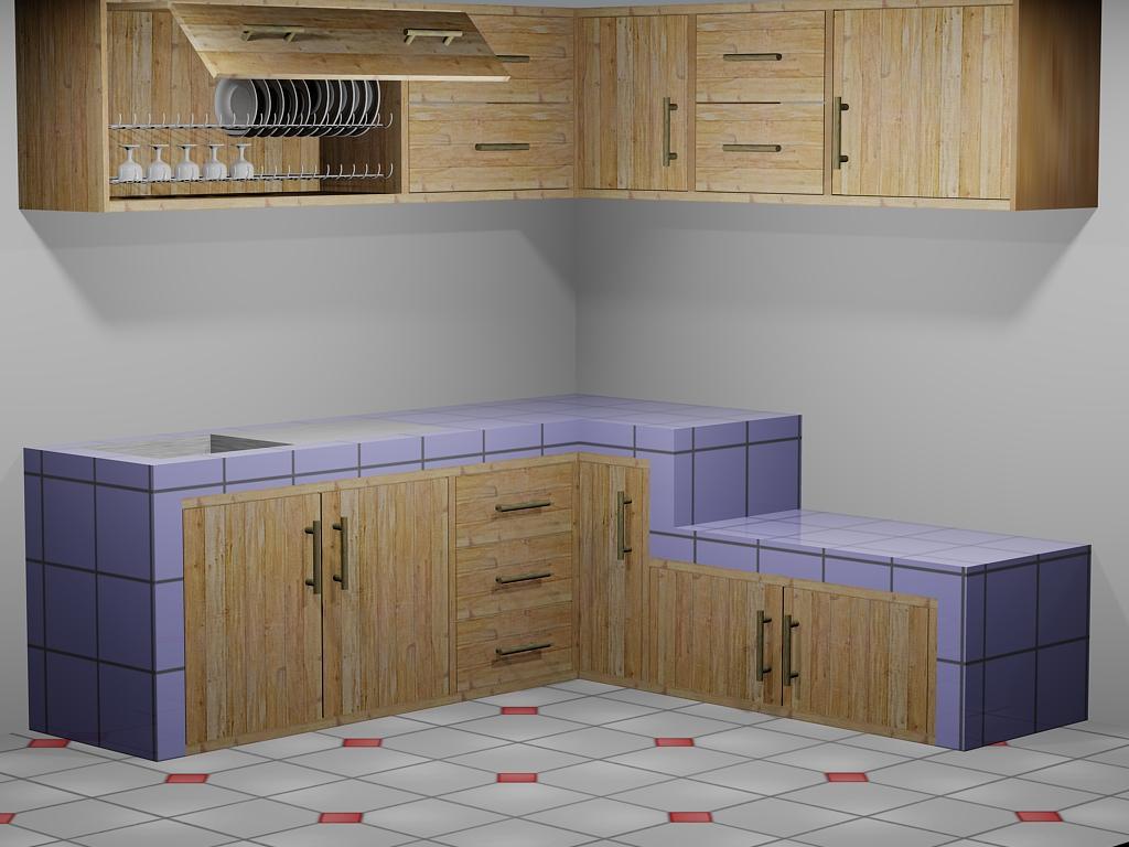 Art And Interior Design Kitchen Set Minimalist