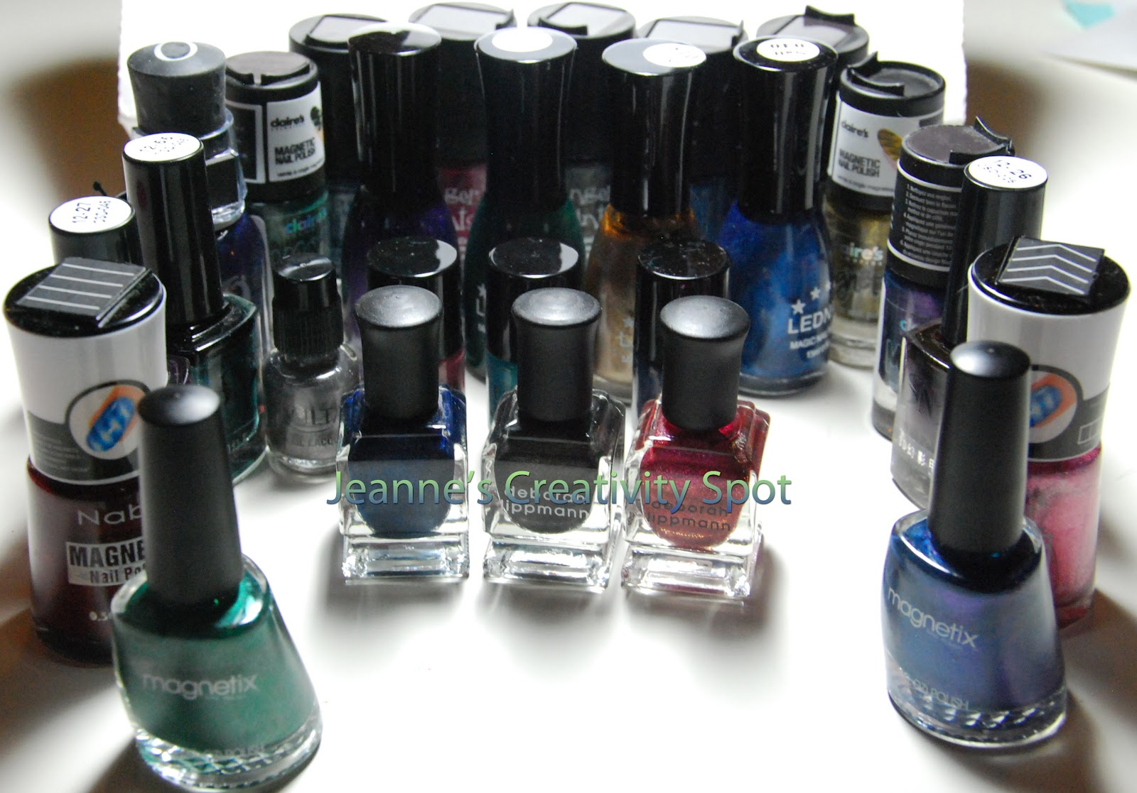 Jeannes Creativity Spot Magnetic Polishes You Decide Nabi Duo Concealer All Have To Do Is Respond In The Comments What Youd Like See Swatched Using Tags I Given Them Any Color With Magnet