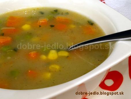 Krémová zeleninová polievka - recepty