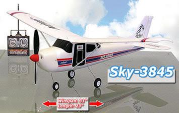 Airbus Cessna 3845 rc image