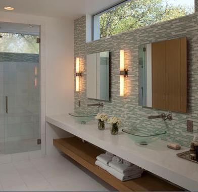 Baños Modernos: muebles baño suspendidos