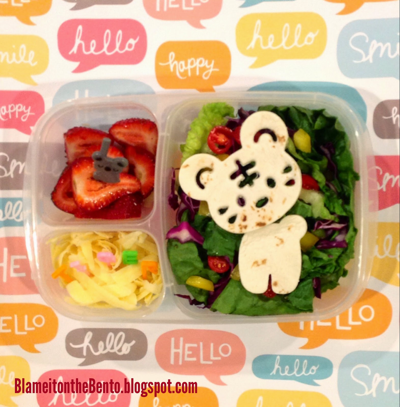 Back to school CuteZCute tiger lunch