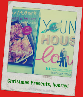 Christmas gifts: cookbook and YHL